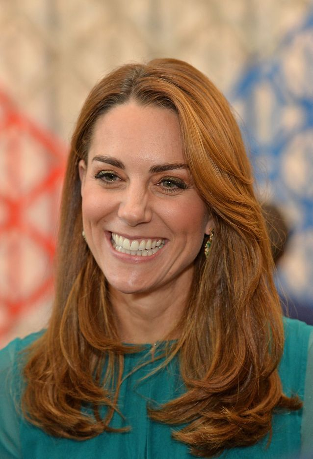 Kate Middleton et sa coloration rousse
