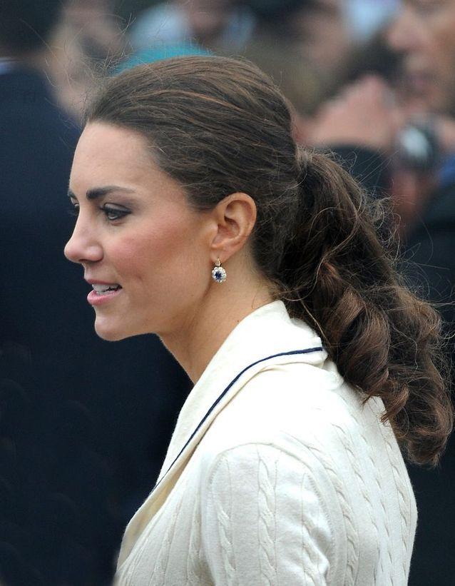 Queue-de-cheval Kate Middleton