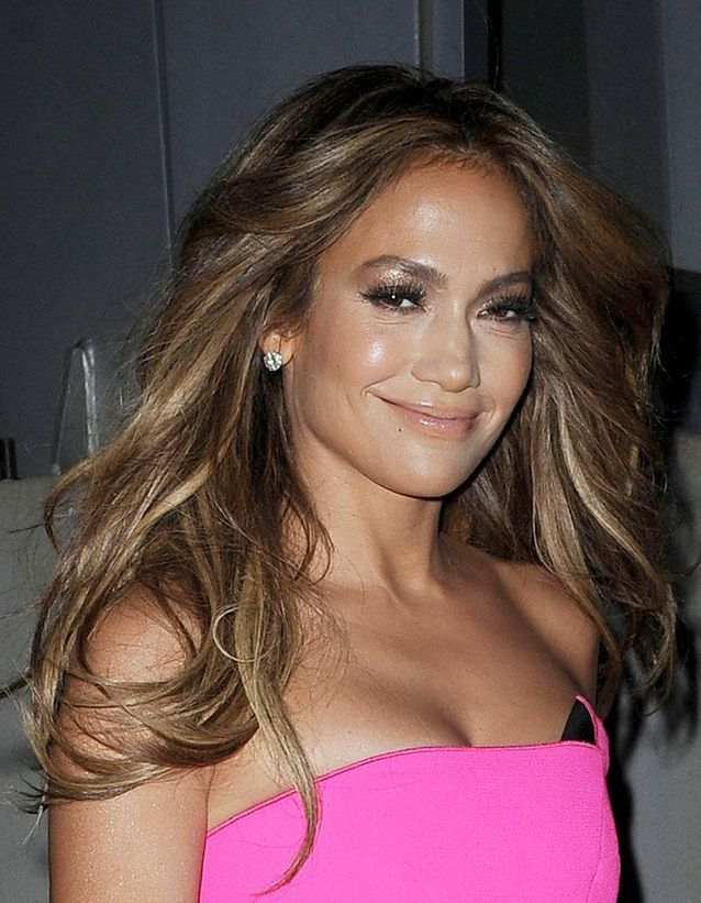 La coloration bronde de Jennifer Lopez