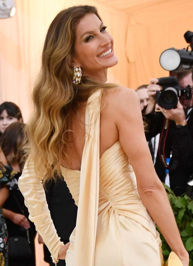 L'allure hollywoodienne de Gisele Bundchen au Met Ball 2018