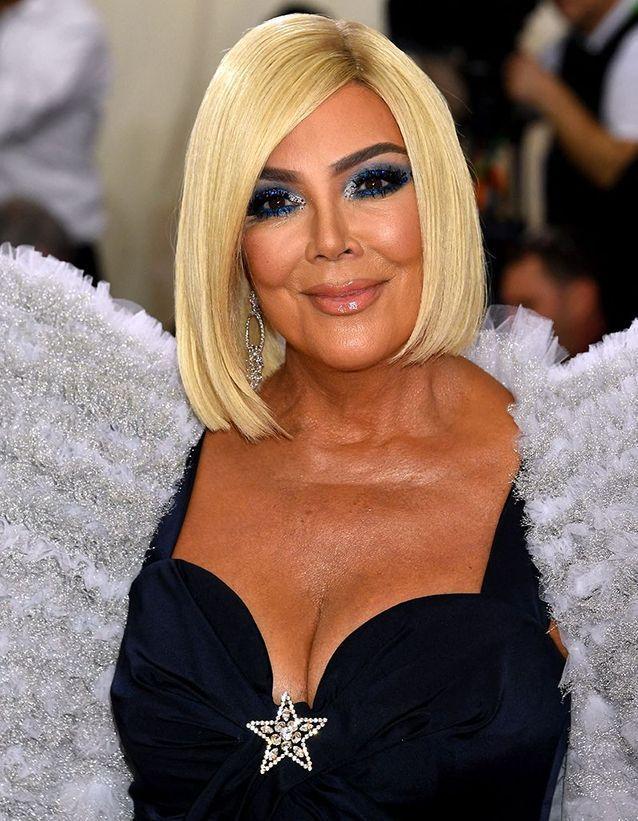 La perruque blonde de Kris Jenner au Met Ball 2019