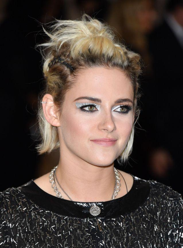 Les yeux argentés de Kristen Stewart