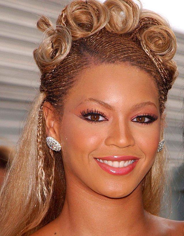Beyonce avant son relooking extrême en 2001