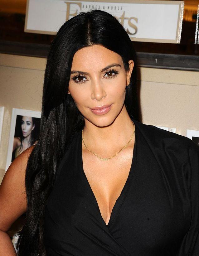Kim Kardashian après son relooking extrême en 2015