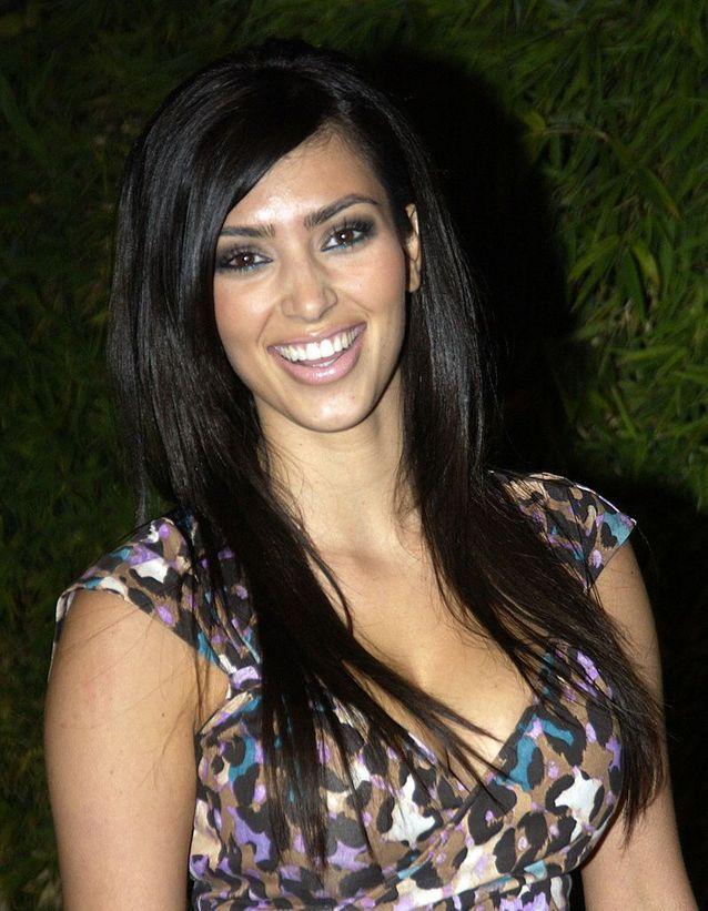 Kim Kardashian avant son relooking extrême en 2006
