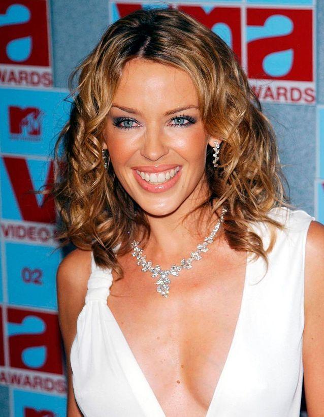 Kylie Minogue avant son relooking extrême en 2002
