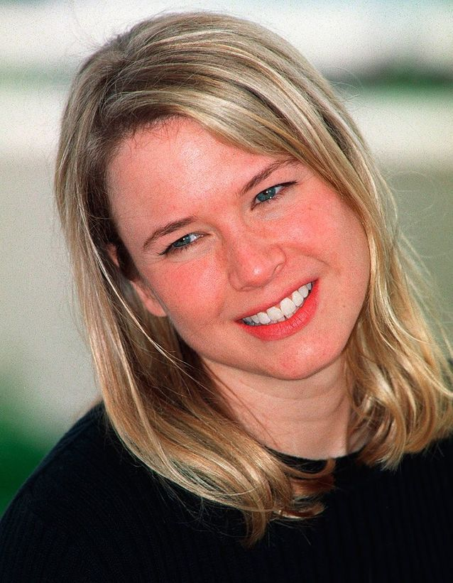 Renee Zellweger avant son relooking extrême en 2000