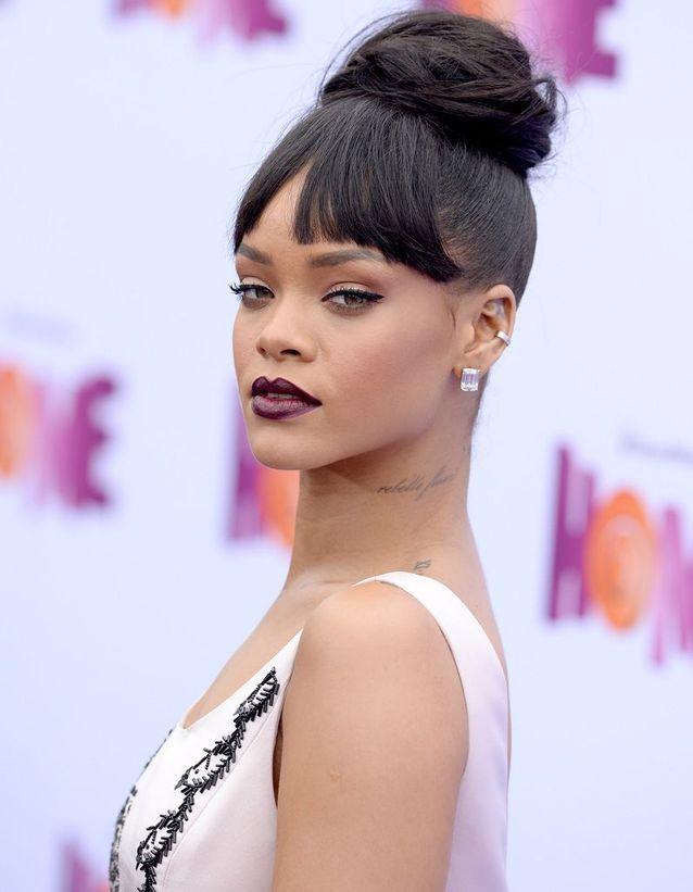 Rihanna après son relooking extrême en 2015