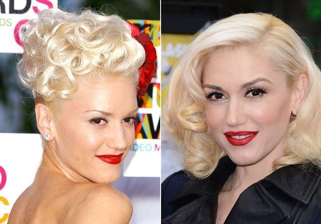 Les sourcils de Gwen Stefani avant/après