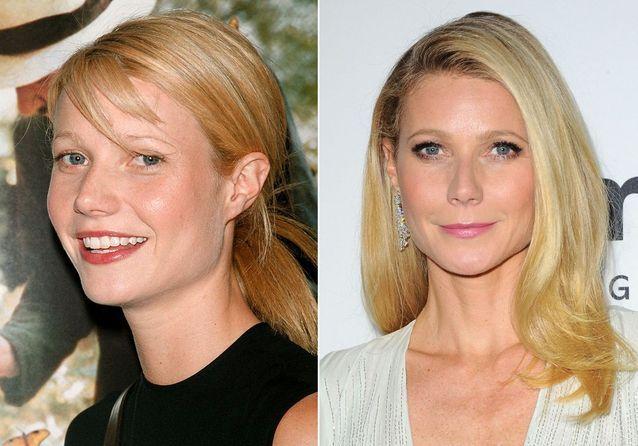 Les sourcils de Gwyneth Paltrow avant/après