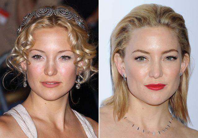 Les sourcils de Kate Hudson avant/après