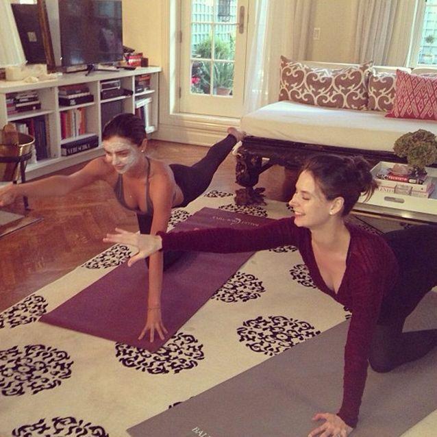 Miranda Kerr fait du Ballet Beautiful
