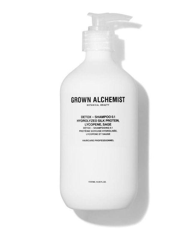Detox Shampoo Protéine de Soie & Poivre Noir, Grown Alchemist