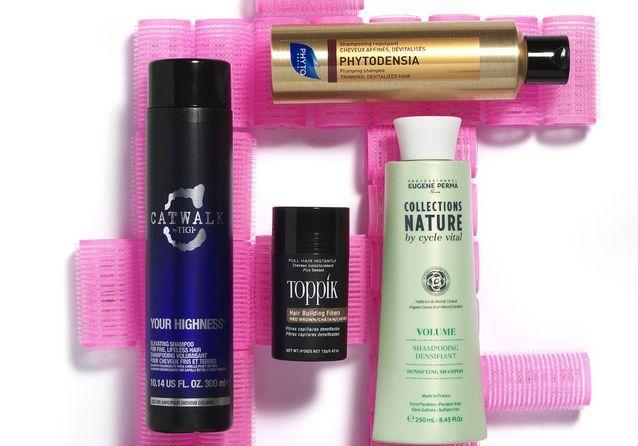 10 produits qui donnent du volume à nos cheveux