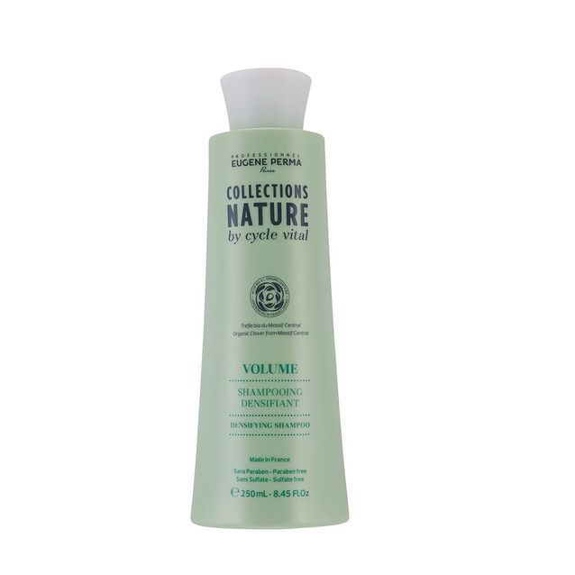 Shampooing Densifiant, Volume, Collections Nature by Cycle Vital, Eugène Perma, 250 ml, 10,90 €