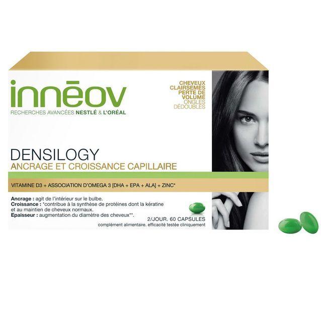 Compléments alimentaires Densilogy, Innéov