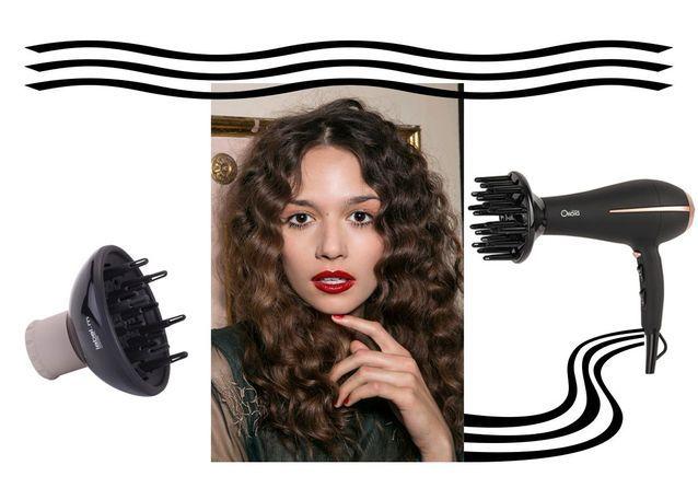 Le sèche-cheveux diffuseur l'allié des jolies boucles