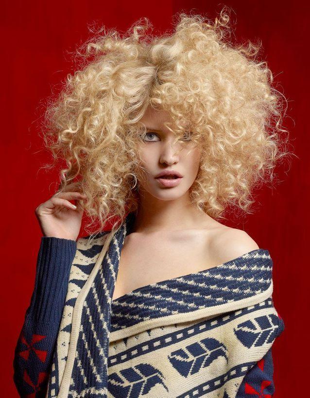 Le blond afro de Vog