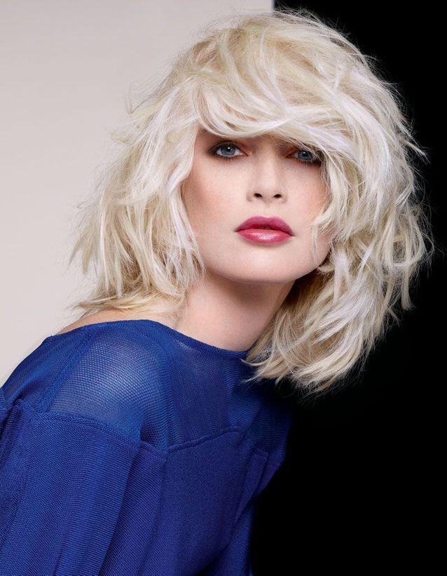 Le blond platine de Dessange
