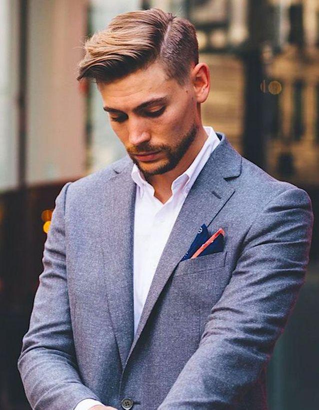 Coiffure homme à la mode