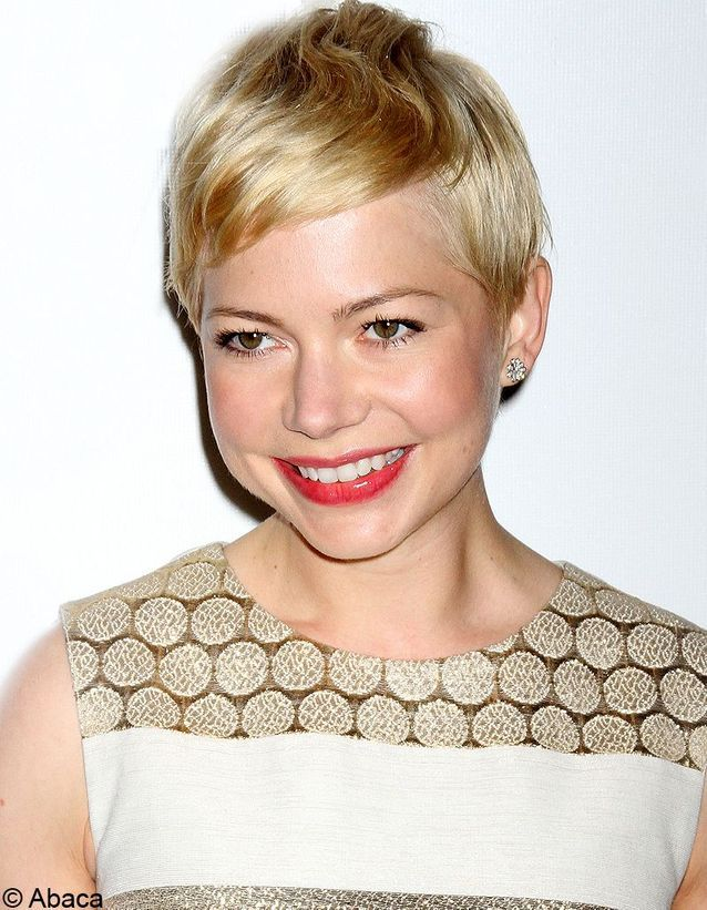 La coupe courte blonde de Michelle Williams
