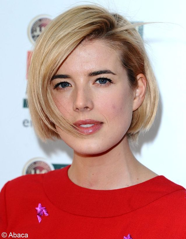 Le carré blond d'Agyness Deyn