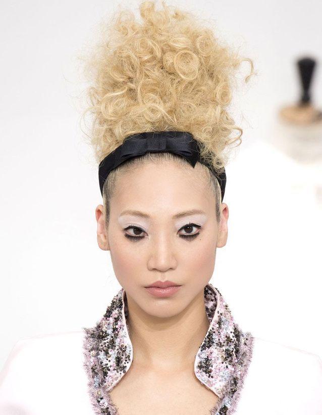 Bandeau cheveux soie