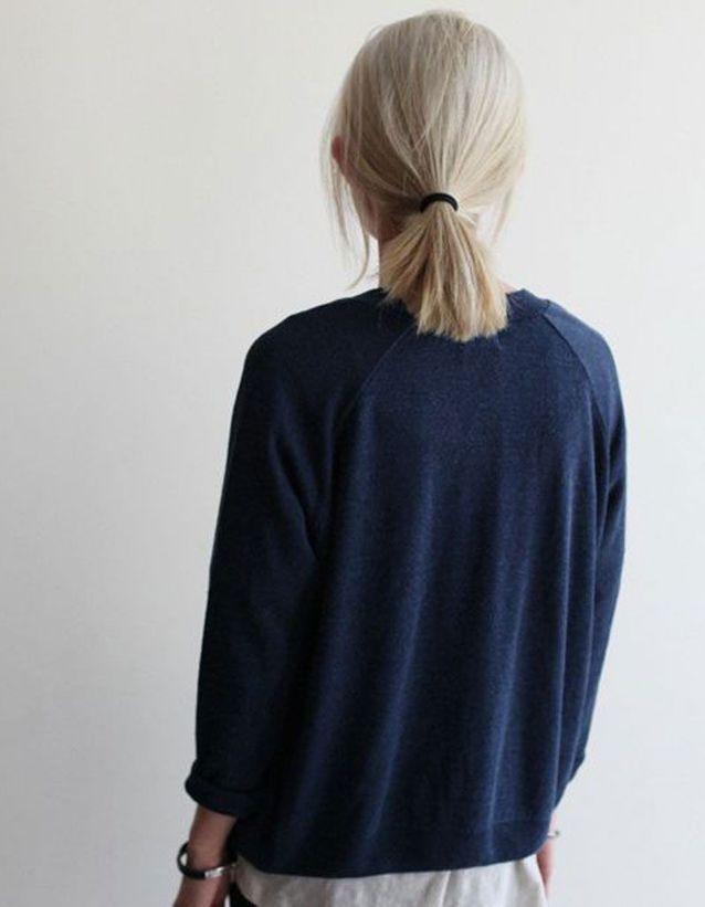 Cheveux attachés facile