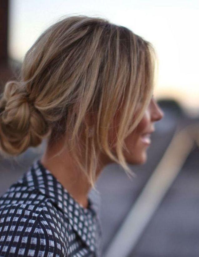 Coiffure cheveux attachés tendance automne-hiver 2016