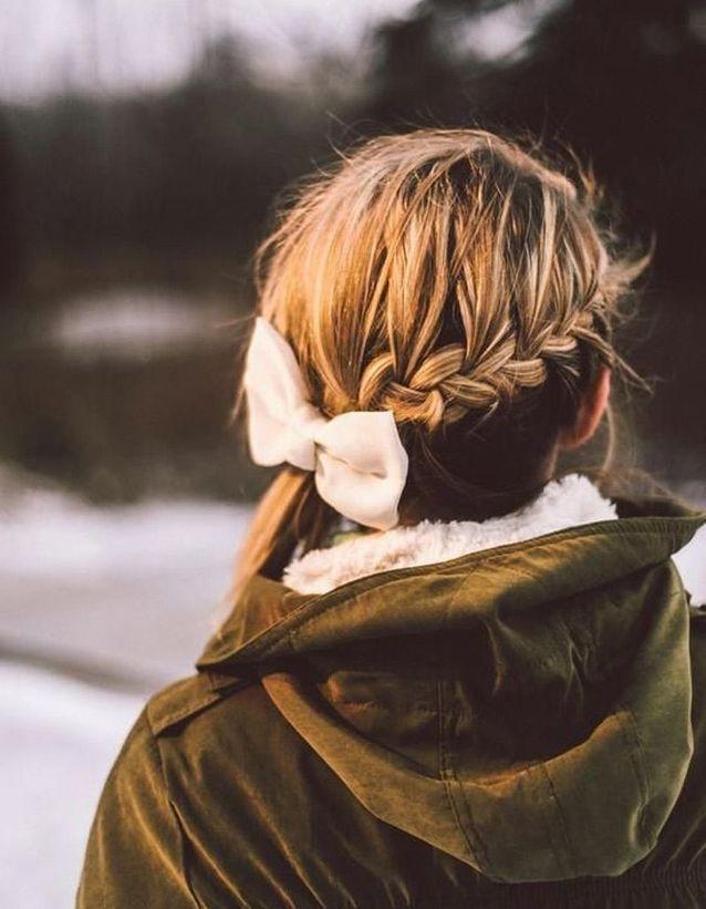 Coupe cheveux attachés longs automne-hiver 2016