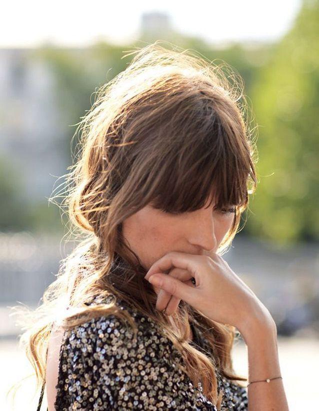 Modèle de coiffure cheveux attachés automne-hiver 2016