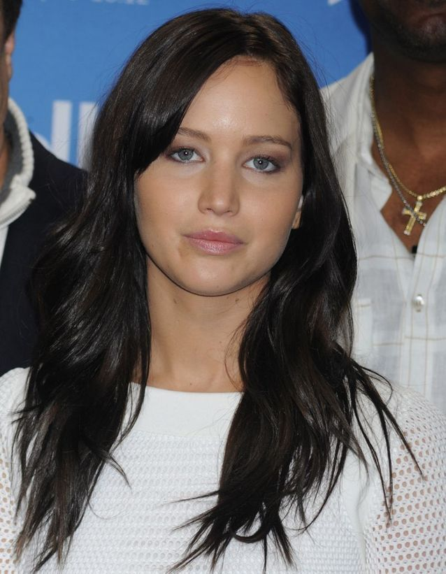 Jennifer Lawrence et sa coloration brune