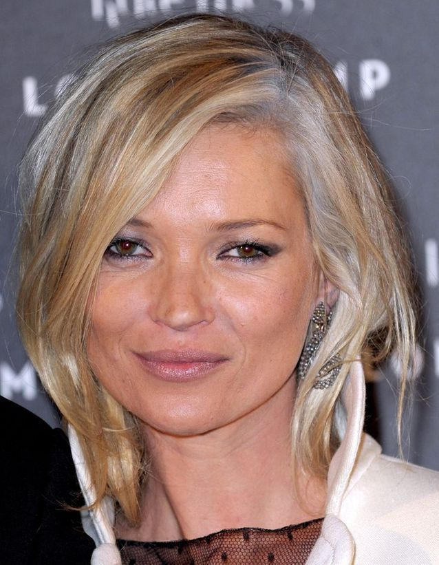 Kate Moss et ses racines blanches
