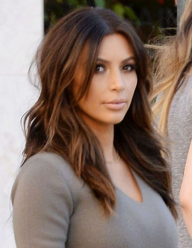 Kim Kardashian et son brun naturel