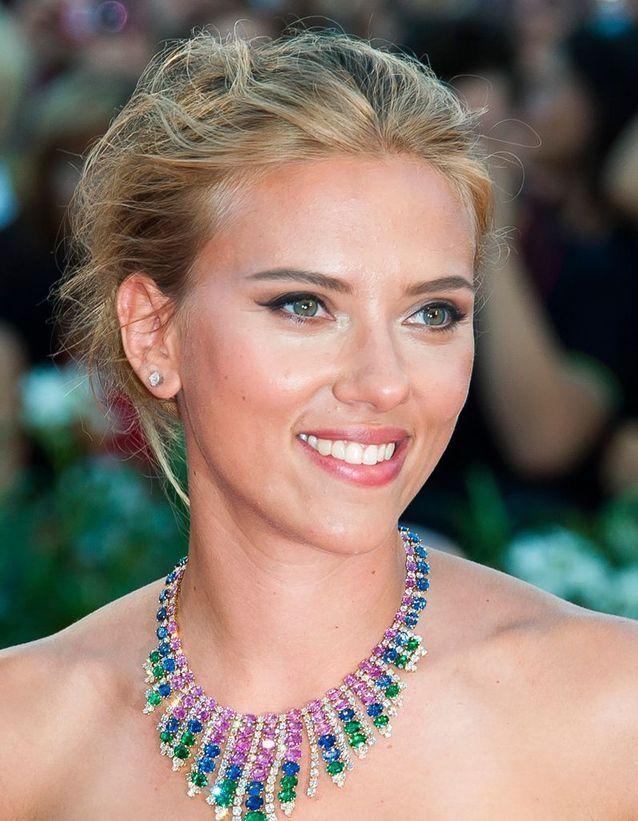 Scarlett Johansson et son blond naturel