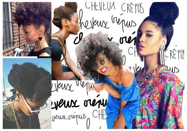 Croissant Cheveux crépus : 20 idées de coiffures pour cheveux crépus - Elle CW-09