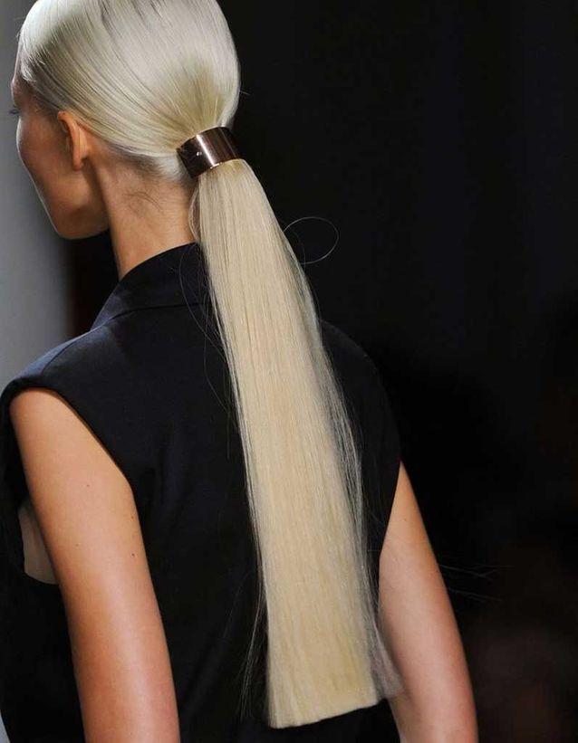Coiffure cheveux fins et raides