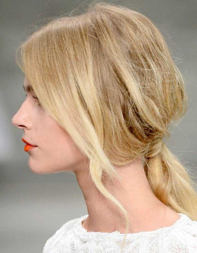 Coiffure Cheveux Fins Mi Longs 30 Coiffures Pour Les