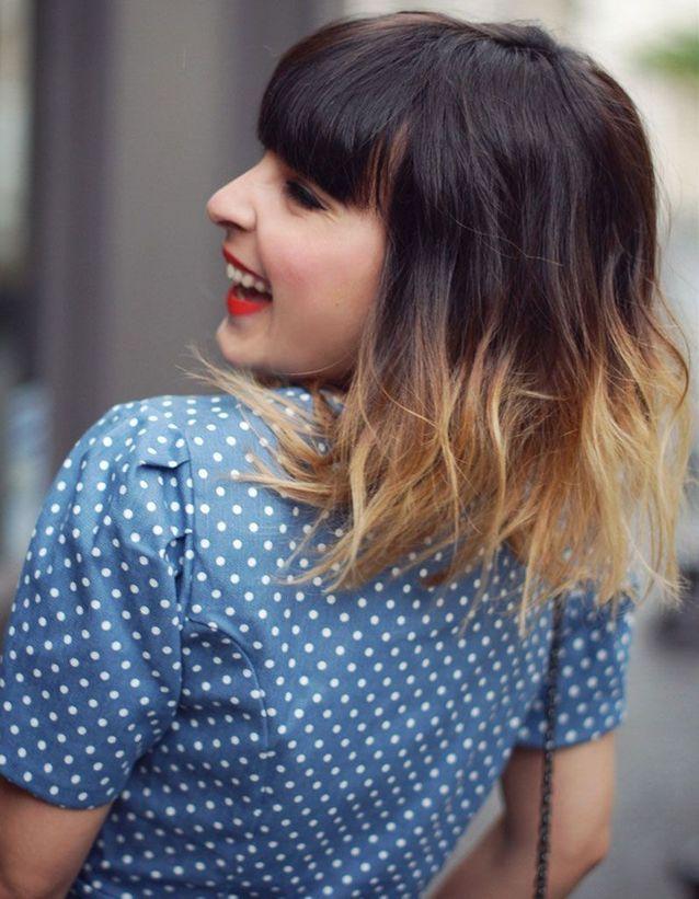 Le Tie Dye Sur Un Carre Wavy Cheveux Wavy Les 30 Plus