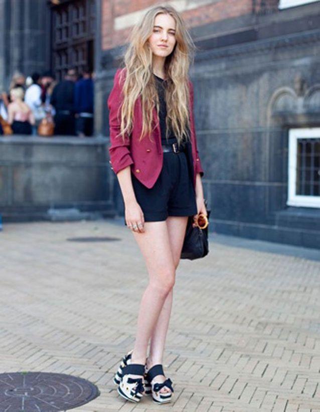 Un wavy sur cheveux longs
