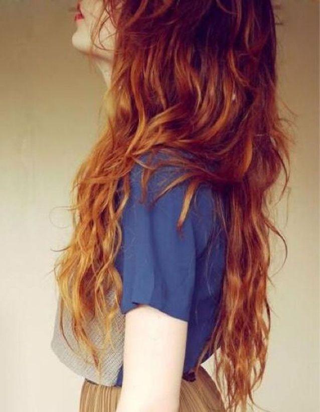 Une belle chevelure rousse et wavy