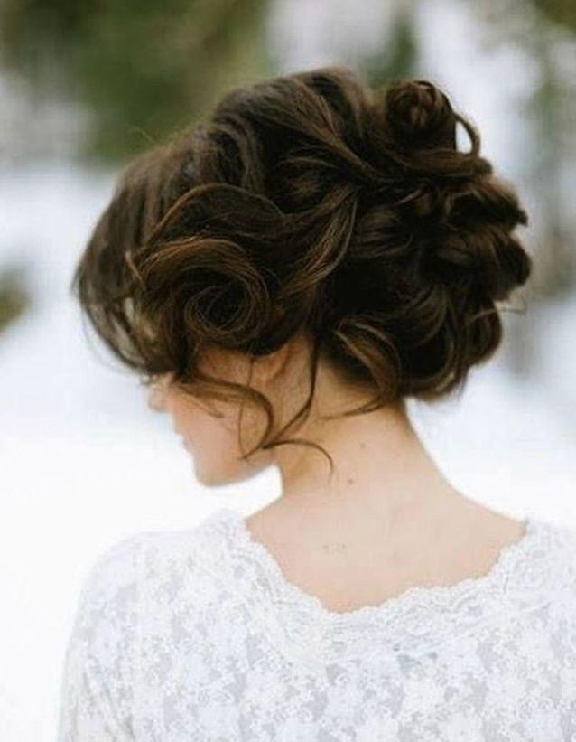 Chignon de mariée brune , Je veux un joli chignon de mariée