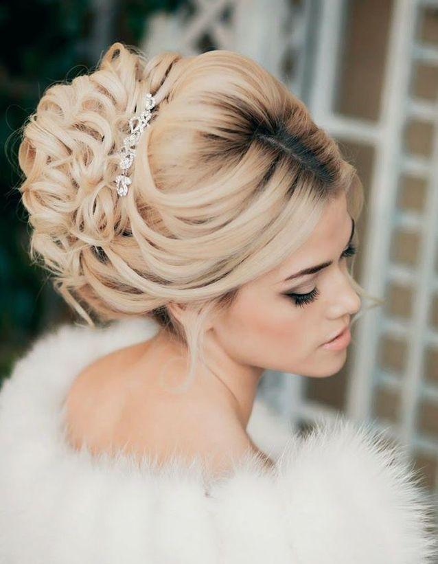 Chignon mariage haute couture