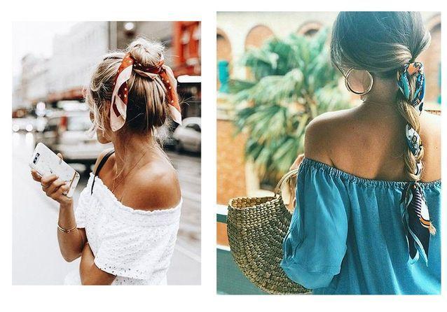 15 coiffures avec un foulard repérées sur Pinterest