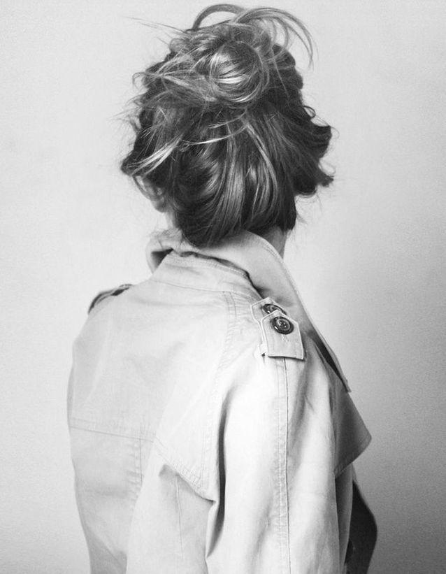 Coiffure coiffée-décoiffée automne-hiver 2016