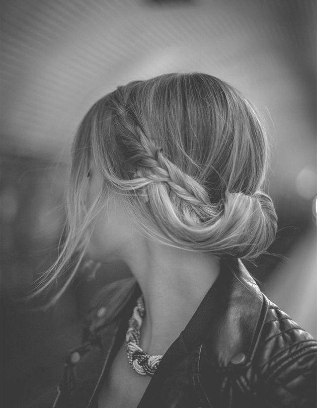Coiffure coiffée décoiffée idée