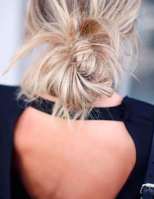 Coiffure coiffée décoiffée jolie idée