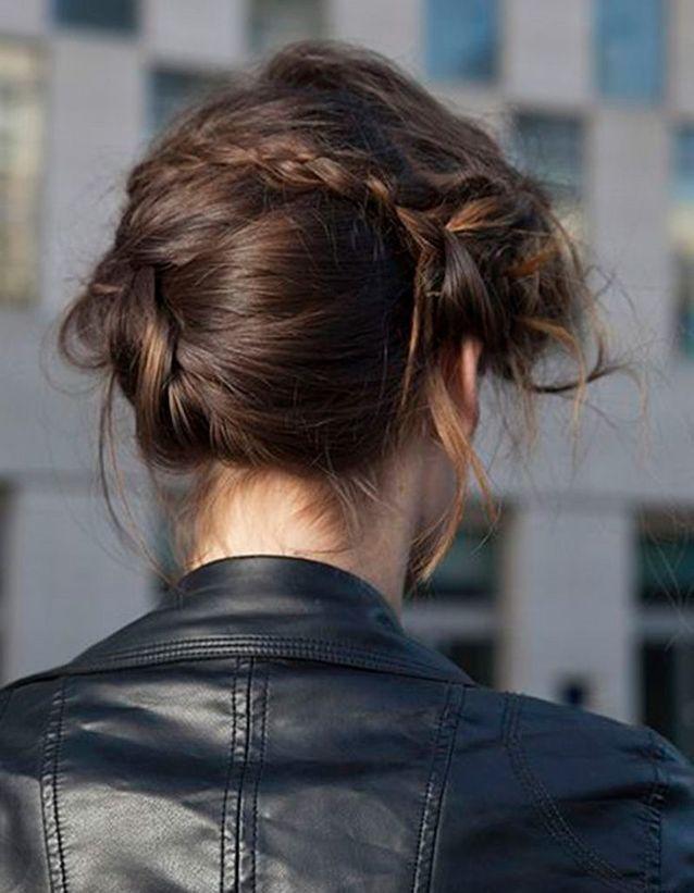 Coiffure coiffée décoiffée modèle