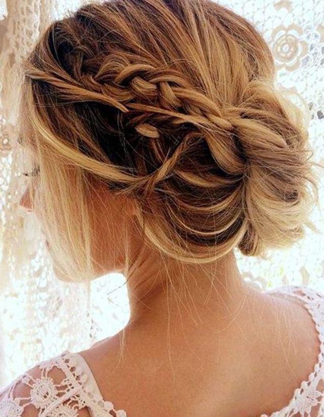 Coiffure Demoiselle Dhonneur Cheveux Mi Longs 15