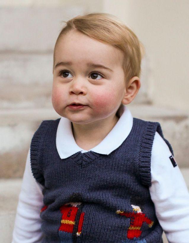 Coiffure enfant : la coupe de cheveux sage du Prince George